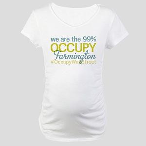 Occupy Farmington Maternity T-Shirt