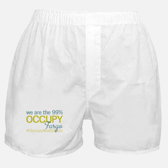 Occupy Fargo Boxer Shorts