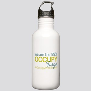 Occupy Fargo Stainless Water Bottle 1.0L