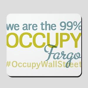Occupy Fargo Mousepad