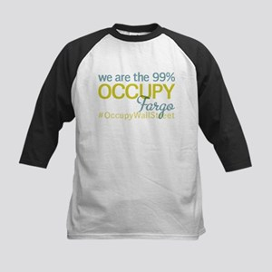 Occupy Fargo Kids Baseball Jersey