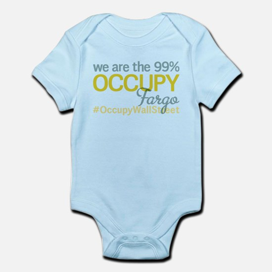 Occupy Fargo Infant Bodysuit