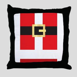 Santa Suit Throw Pillow