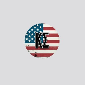 Kappa Sigma Flag Mini Button