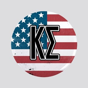 Kappa Sigma Flag Button
