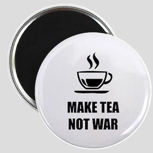 Make tea not war Magnet