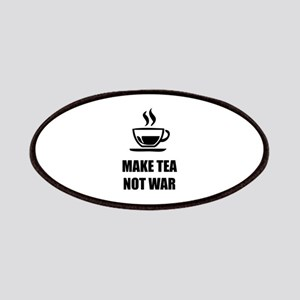 Make tea not war Patches