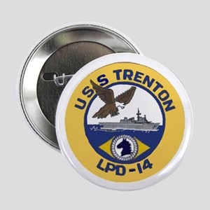 "USS Trenton LPD 14 2.25"" Button"