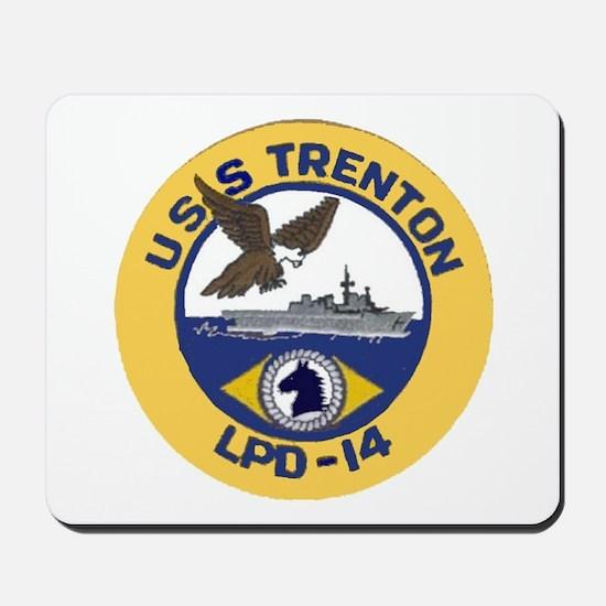 USS Trenton LPD 14 Mousepad