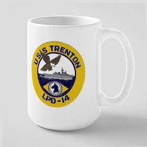 USS Trenton LPD 14 Large Mug