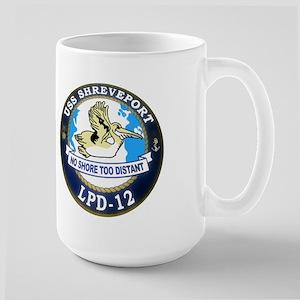 USS Shreveport LPD 12 Large Mug