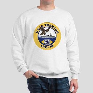 USS Trenton LPD 14 Sweatshirt