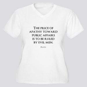 Politics Women's Plus Size V-Neck T-Shirt