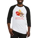 Goat Heart Baseball Jersey