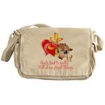 Goat Heart Messenger Bag