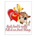 Goat Heart Small Poster