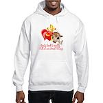 Goat Heart Hooded Sweatshirt