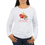 Goat Heart Women's Long Sleeve T-Shirt
