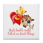 Goat Heart Tile Coaster