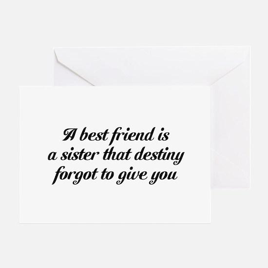 Best Friends Greeting Card