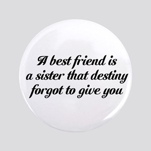 "Best Friends 3.5"" Button"
