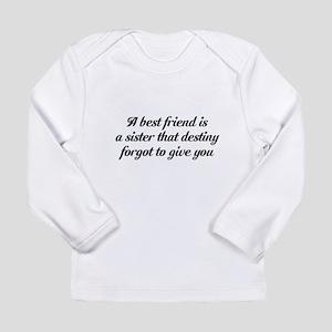 Best Friends Long Sleeve Infant T-Shirt