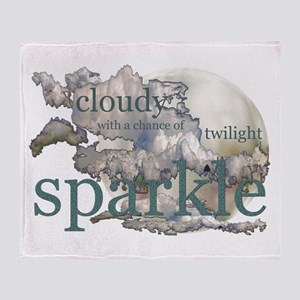 Cloudy With A Chance Of Spark Throw Blanket