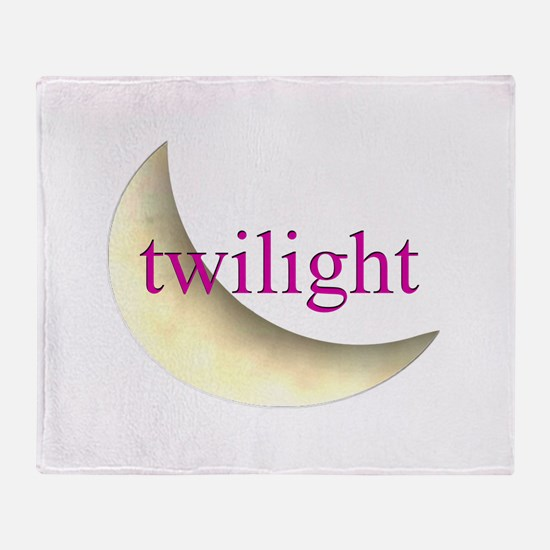 Twilight Moon Throw Blanket