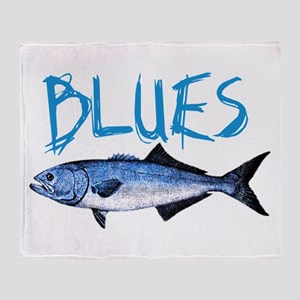 Blues Throw Blanket