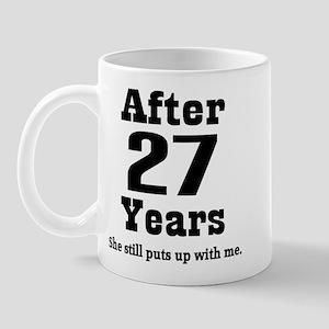 27th Anniversary Funny Quote Mug
