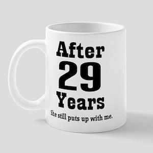 29th Anniversary Funny Quote Mug