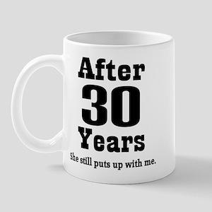 30th Anniversary Funny Quote Mug