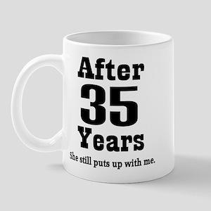 35th Anniversary Funny Quote Mug