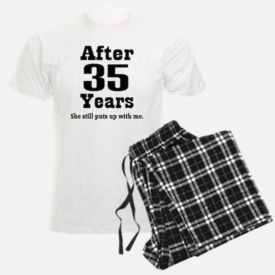 35th Anniversary Funny Quote Pajamas