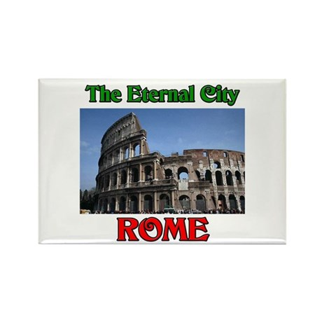 The Eternal City Rome Rectangle Magnet