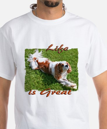 Cavalier Great Life White T-Shirt