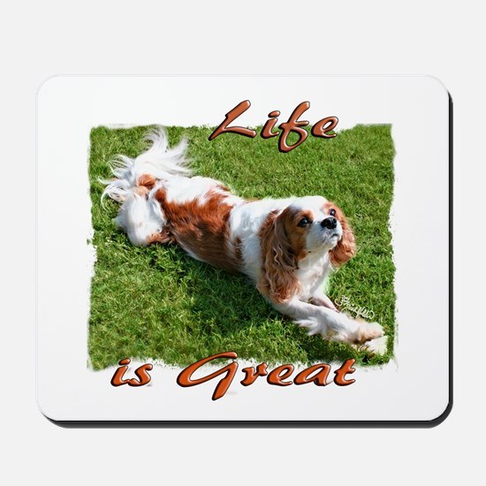 Cavalier Great Life Mousepad