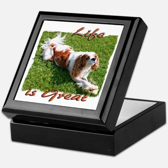 Cavalier Great Life Keepsake Box