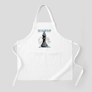 Black Bishop Chess Mate Apron