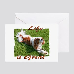 Cavalier Great Life Greeting Card