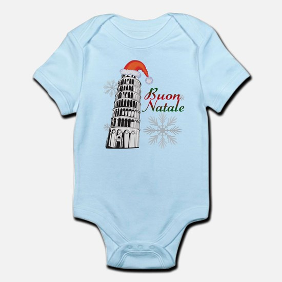 Buon Natale Pisa Infant Bodysuit