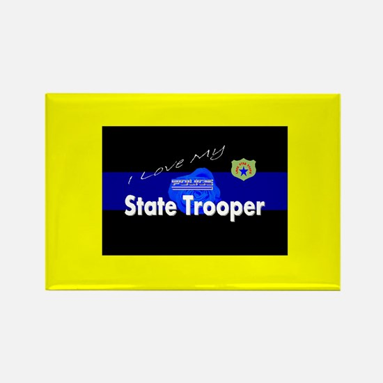 Love My Tx State Trooper Magnet Magnets