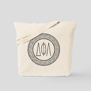 Delta Phi Lambda Medallion Tote Bag