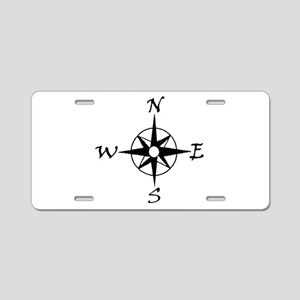 THE MORAL COMPASS™ Aluminum License Plate