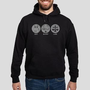 Eat Sleep Law Hoodie (dark)