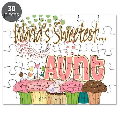 World's Sweetest Aunt Puzzle