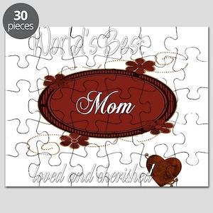 Cherished Mom Puzzle
