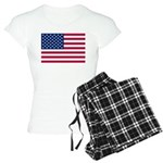 US Flag Women's Light Pajamas