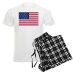US Flag Men's Light Pajamas