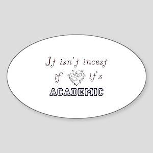 Academic Incest LG Sticker